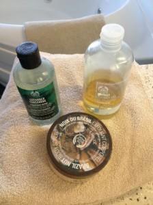 Body scrub fra Body Shop