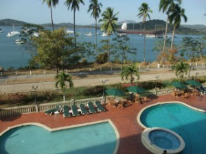 Hotellet ved Panama kanalen