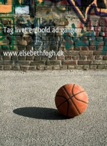 Tag livet en bold ad gangen