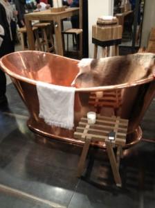 Muubs badekar i kobber