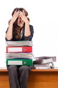 stress skyldes oberbelastning