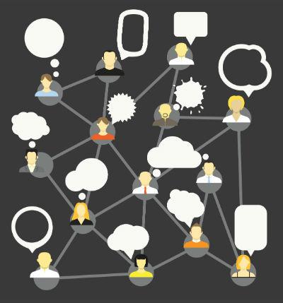 netværk og heteraki via content marketing